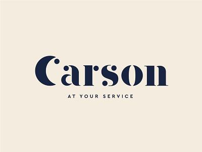 Carson identity carson font letters costume logotype type logo branding