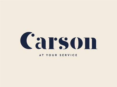 Carson identity carson font letters costume logotype type logo branding