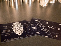 Oyster party invites