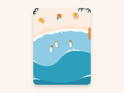 Enjoy the Sea figma sea vector design illustration summer seashore