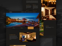 Abaca Boutique Resort + Restaurant Website