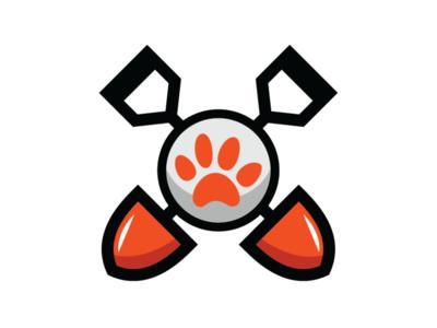 Dog cleaning service logo template groom veterinary pet pet cleaning service cleaning service dog logo dog