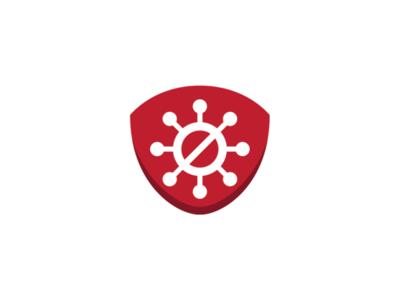 Medical Mask Logo Template protection logo health logo masker logo mask logo medical mask logo antivirus logo