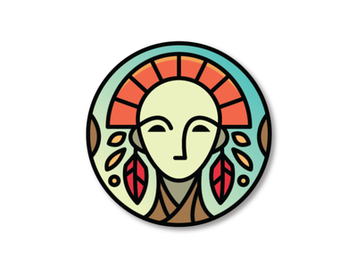 Ancient Beauty Logo Template spa woman health masker mask medicure pedicure saloon female girl beauty ancient