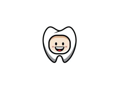 Smile Happy Dentist Dental Logo Template
