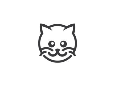 Round Cat Logo Template by Heavtryq - Dribbble