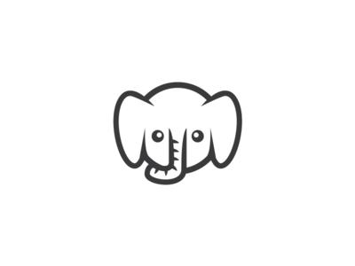 elephant logo baby clipart library