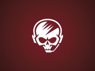 Hardcode Skull Gamer Logo Template