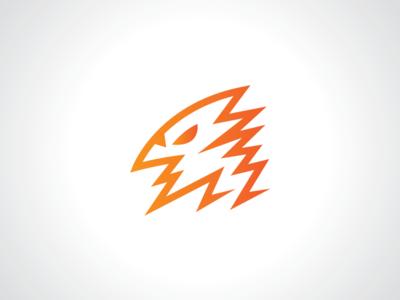 Electric Bird Logo Template
