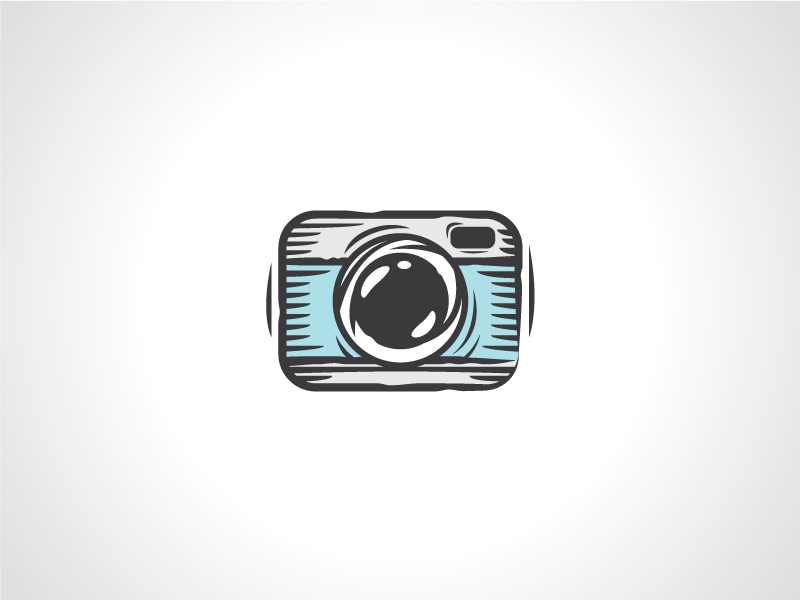 camera sketch photography logo template by heavtryq dribbble