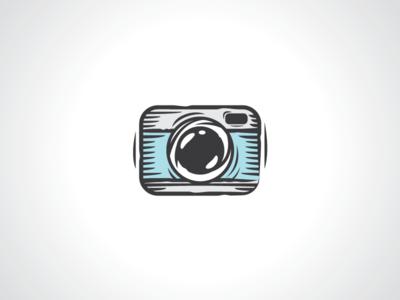Camera Sketch Photography Logo Template template logo logo template pen logo pencil logo doodle logo sketch logo art logo hobbies logo hobby logo photography logo camera logo