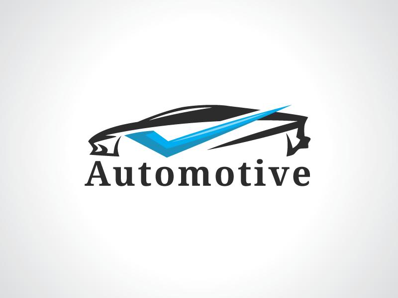 Car Check Automotive Logo Template guarantee good garage fix diagnose company check car buy brand auto agent