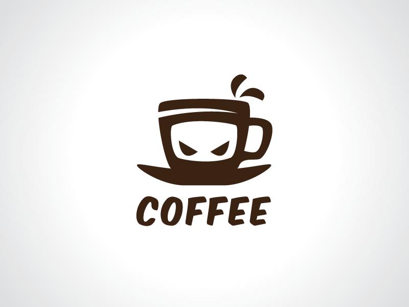 ninja coffee logo template by heavtryq dribbble dribbble