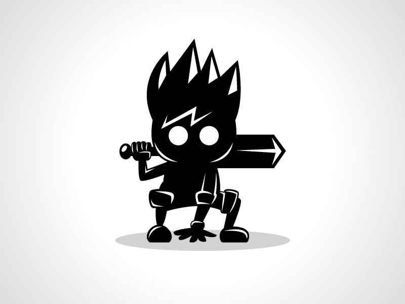 ninja gamer logo template by heavtryq dribbble
