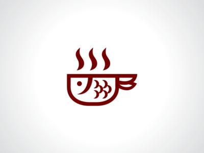 Fish Bowl Soup Logo Template & Fish Bowl Soup Logo Template by Heavtryq - Dribbble