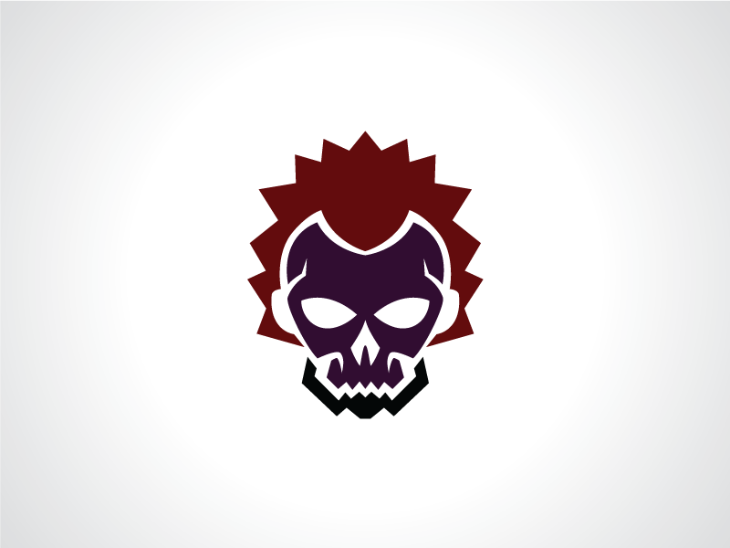 skull mask guild logo template by heavtryq dribbble dribbble