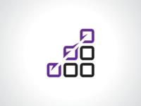Shortcut Squares Logo Template