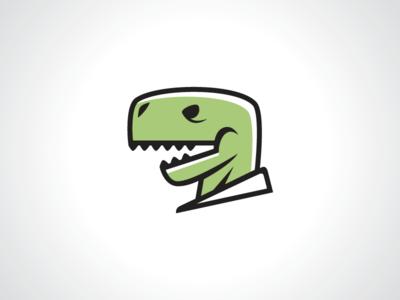 white collar t rex logo template by heavtryq dribbble