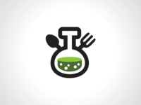 Food Lab Restaurant Logo Template
