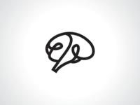 String Brain Logo Template