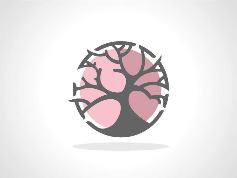 circular tree logo template by heavtryq dribbble dribbble