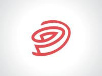 Half Rose Logo Template