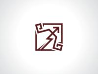Archery Bow Logo Template
