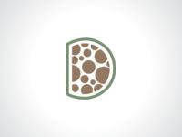 Letter D Circle Logo Template
