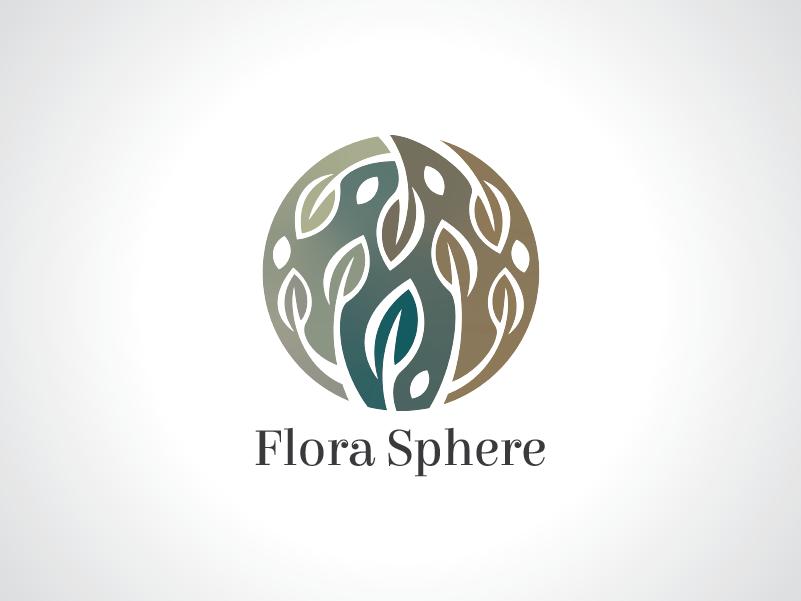 flora sphere logo template by heavtryq dribbble dribbble