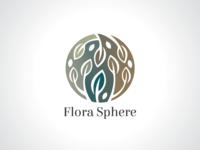 Flora Sphere Logo Template