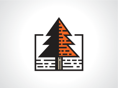Orange Spruce Logo Template