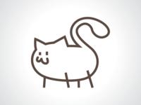 Fat Cat Logo Design