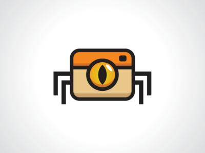 Spider Cam Logo Template