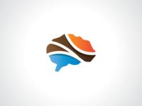 Colorful Brain Logo Template