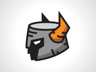 Head Helmet Armor Logo Template