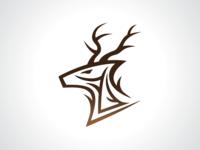 Forest Deer Logo Template