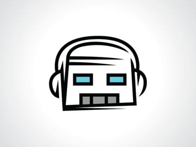 Gamer Bot Logo Template