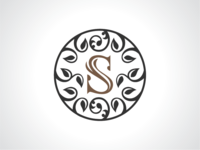 Seed Of Life Sphere Logo Template