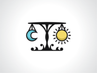 Sun And Moon Scales Logo