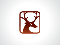 Red Elk Logo Template
