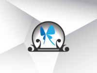Butterfly In Sphere Logo