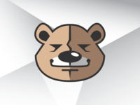 Big and Confidence Bear logo
