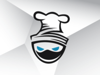 Chef Ninja Logo Template