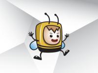 Baby Bee Logo Template