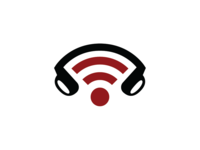 WiFi Music And Earphone Sound Logo Template