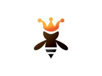 Queen Bee Logo Template