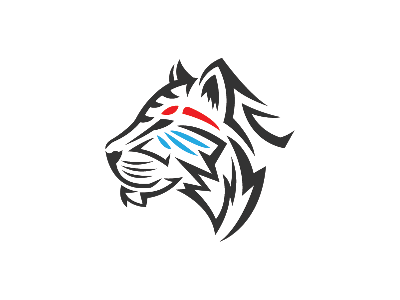 Tiger Template | Tribal Tiger Logo Template By Heavtryq On Dribbble