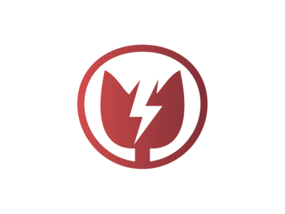 Electric Cat Logo Template