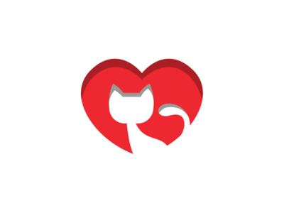 Cat Lover Logo Template
