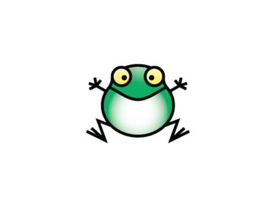 happy frog logo